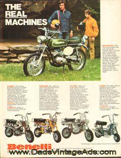 "1972 Benelli Mini-bikes & Mini-Enduro – ""The Real Machines"""