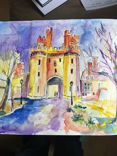 Lancaster Castle by Christine Rooney