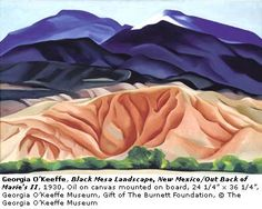 Mountians Majesty--O'keeffe