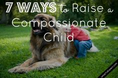7 tips to raise a caring, kindhearted kid