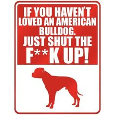 If U Haven't Loved An American Bulldog, love this for my girls