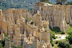 les orgues d'Ille-sur-Têt dans le Languedoc Roussillon