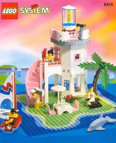 6414-1: Dolphin Point | Brickset: LEGO 1995