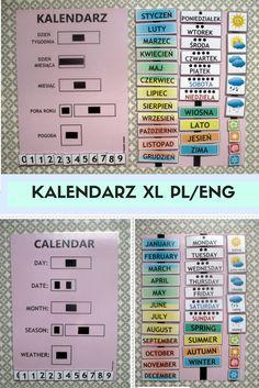Kalendarz z rzepami w wersji powiękosznej do 2xA3