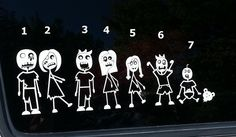 1000 Images About Stick Figure Families On Pinterest