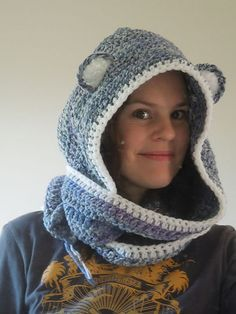 Ravelry: Bear Scoodie pattern by HappyBerry