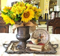 Fall Home Tour - My Soulful Home http://mysoulfulhome.com