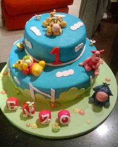 Le follie di Giulia: Winnie Pooh - Buon compleanno al piccolo Enzo!