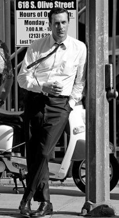 Black & White | Don Draper