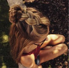 Whether you're on the beach with friends, going on a cute date or working a summer job, these six easy hairstyles will keep your hair out