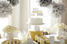 Coordinating Printables Add Color and Detail to the Buffet