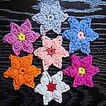Free Crochet Pattern Star Flower
