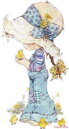 Счастливое детство от художника-иллюстратора Sarah Kay (Сара Кей) - Страна Мам