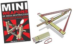 Mini Weapons of Mass Destruction: How to greatly improve your spitball wars...