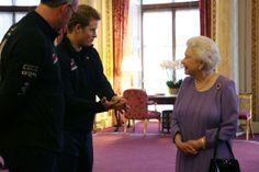 Poles apart: The Queen gives nervous Dominic West short shrift after Prince Harry Antarctica trek invite