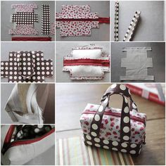 DIY Fabric Mini Tote