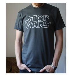 Stop Wars by The Fencing and Archery Printing Co. @ Uncovet  //  yes