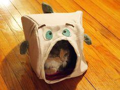 tommyincathouse super cute fish cat house
