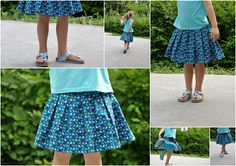 emma and mona: Manual box pleat skirt Pleated Skirt Tutorial, Pleated Skirt Pattern, Box Pleat Skirt, Sewing Kids Clothes, Sewing For Kids, Fashion Sewing, Fashion Kids, Toddler Outfits, Kids Outfits