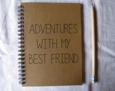 So here's to...best friends forever 5 x 7 di JournalingJane