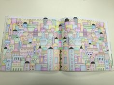 Book Completed Coloured By Prue