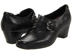 Clarks Sugar Charm Black Leather - Zappos.com Free Shipping BOTH Ways