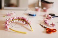 DIY: FLOWER HEADBAND