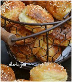 .. chute a vône mojej kuchyne...: Zemiakové pagáčiky Spaghetti, Muffin, Pizza, Baking, Breakfast, Basket, Crochet Owls, Muffins, Patisserie