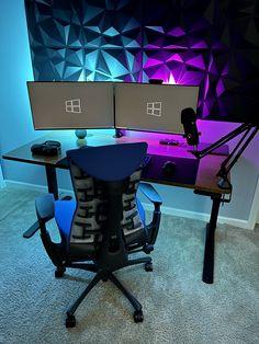 My Utopia Best Gaming Setup, Computer Setup, Home Studio Setup, Desk Inspo, Gaming Pcs, Cool Desktop, Pc Setup, Up Game, Microsoft Surface