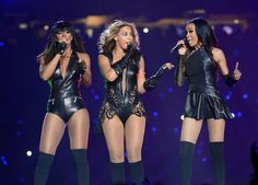 Beyoncé reuniting with Kelly Rowland and Michelle Williams to make Destiny's Child.
