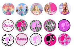"""Barbie 1"""" Bottle Cap images"""