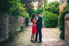 Engagement Shoot in Old Alexandria, VA just outside of Washington, DC «