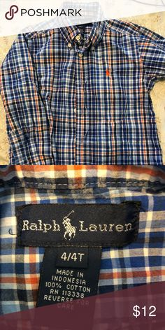 Boys 4T Polo Ralph Lauren l/s Oxford Bright, great condition boys 4T Polo Ralph Lauren long sleeve button down oxford. No smoking home but dog friendly. No rips, tears, stains. Very handsome shirt. Polo by Ralph Lauren Shirts & Tops Button Down Shirts