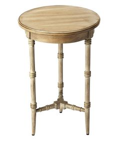 Look what I found on #zulily! Taupe Accent Table #zulilyfinds