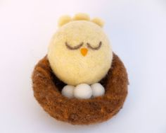 A Needle Felted Easter - The Magic Onions