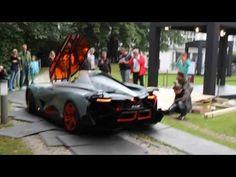 Lamborghini Egoista running & revving - YouTube
