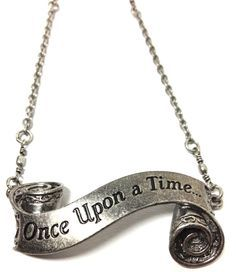 Once Upon a Time Short Necklace by MidnightHouseElves on Etsy Cute Jewelry, Jewelry Box, Jewlery, Jewelry Accessories, Chain Jewelry, Jewelry Necklaces, Pendant Jewelry, Pendant Necklace, Once Upon A Time