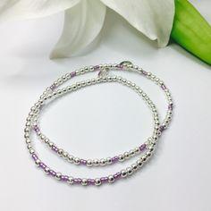 Fine Jewelry Jewelry & Watches Magnifique Argent Sterling Millifiori Floral Multi-colore Perle Bracelet Lié Various Styles
