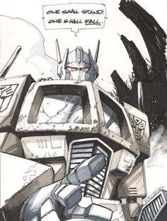 Optimus Prime by KharyRandolph.deviantart.com