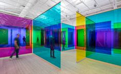 Olafur Eliasson // Reality machines - ArkDes - Sweden's National Centre for Architecture and Design Theme Color, Studio Olafur Eliasson, Instalation Art, Interactive Installation, Stage Design, Light Art, Public Art, Oeuvre D'art, Contemporary Art