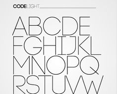 30 best free minimalistic fonts for web designers.
