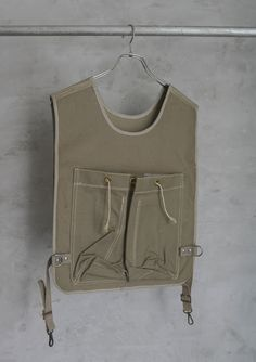 ***silhouette, details --- layering piece*** french military bomberman vest