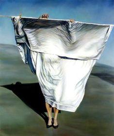 Sheets to the wind ... Ana Teresa Fernandez