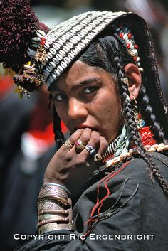 The customs and dress of Pakistan's Kalash tribe support the claim that they are descended from the army of Alexander the Great, who lived in the Hindu Kush foothills in 326 b.c. ©Ric Ergenbright