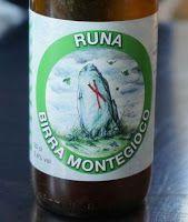 BirrainBo 2015: Le birre di RANZANI  13 - Montegioco - Runa - 4,8% Alc - Belgian Pale Ale color giallo paglierino opalescente dalle note erbacee e floreali e dal gusto asciutto e luppolato.