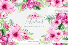 Posted by @newkoko2020 Aloha! by frou frou on @creativemarket