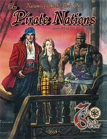 Nations of Théah: Book 1: The Pirate Nations - Alderac Entertainment Group