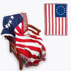 Betsy Ross Blanket @ FlagandBanner.com