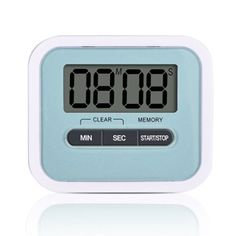 Mudder Cook Kitchen Magnetic Digital Timer with Large Screen, Blue: Amazon.co.uk: Kitchen & Home