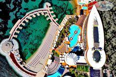 """Începem ziua cu vești bune 😍 #HotelVizitat GRANADA LUXURY OKURCALAR 5* 🕌 din #Alanya, #Turcia i-a făcut un """"upgrade"""" plajei 🏖, adăugându-i o cantitate impresionantă de nisip, iar rezultatul este pur și simplu superb 🤩 Acum, cu noua plajă, alături de serviciile ireproșabile, toboganele acvatice 💦, piscinele mari și locul de joacă pentru copii 🥳, ai și mai multe motive să mergi în vacanță la GRANADA LUXURY 5* 💕 Rezervă un sejur, profitând de Reducerile… Granada, Tennis Racket, Turkish Language, Grenada"""